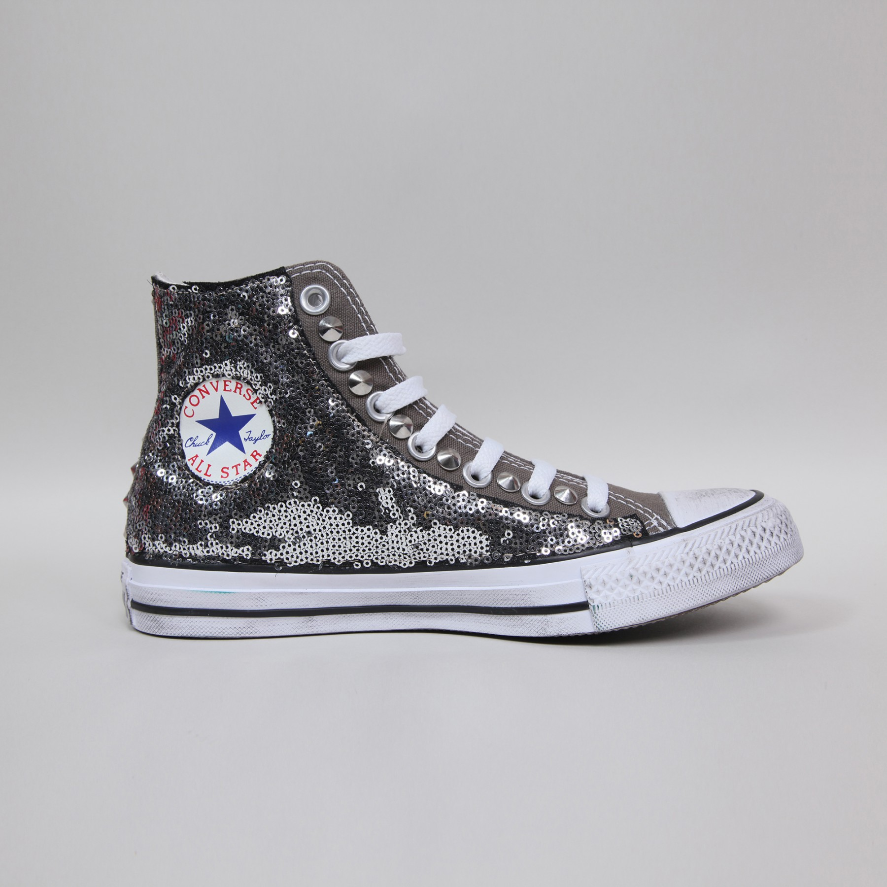 converse hi charcoal paillettes grigie converse. Black Bedroom Furniture Sets. Home Design Ideas