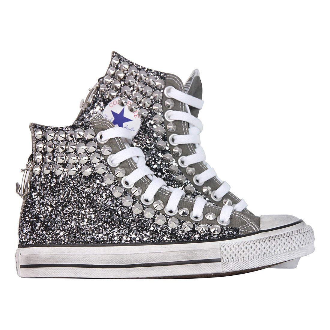 converse all star argento