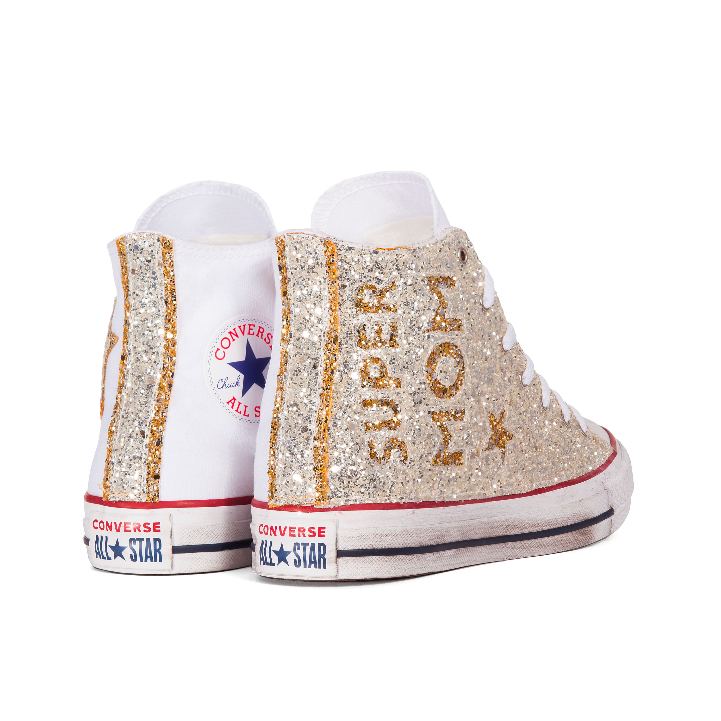 converse all star borchie oro