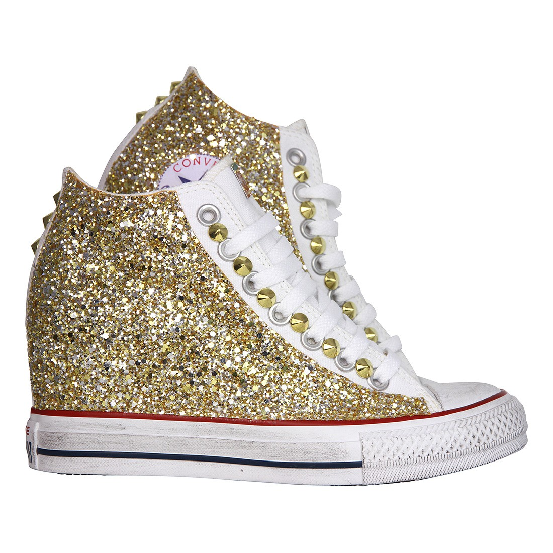 converse all star con tacco interno