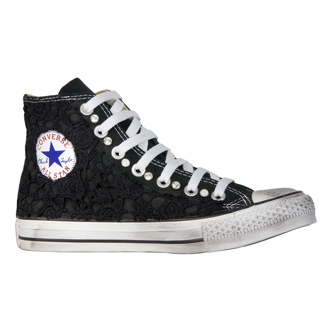 all star converse nero