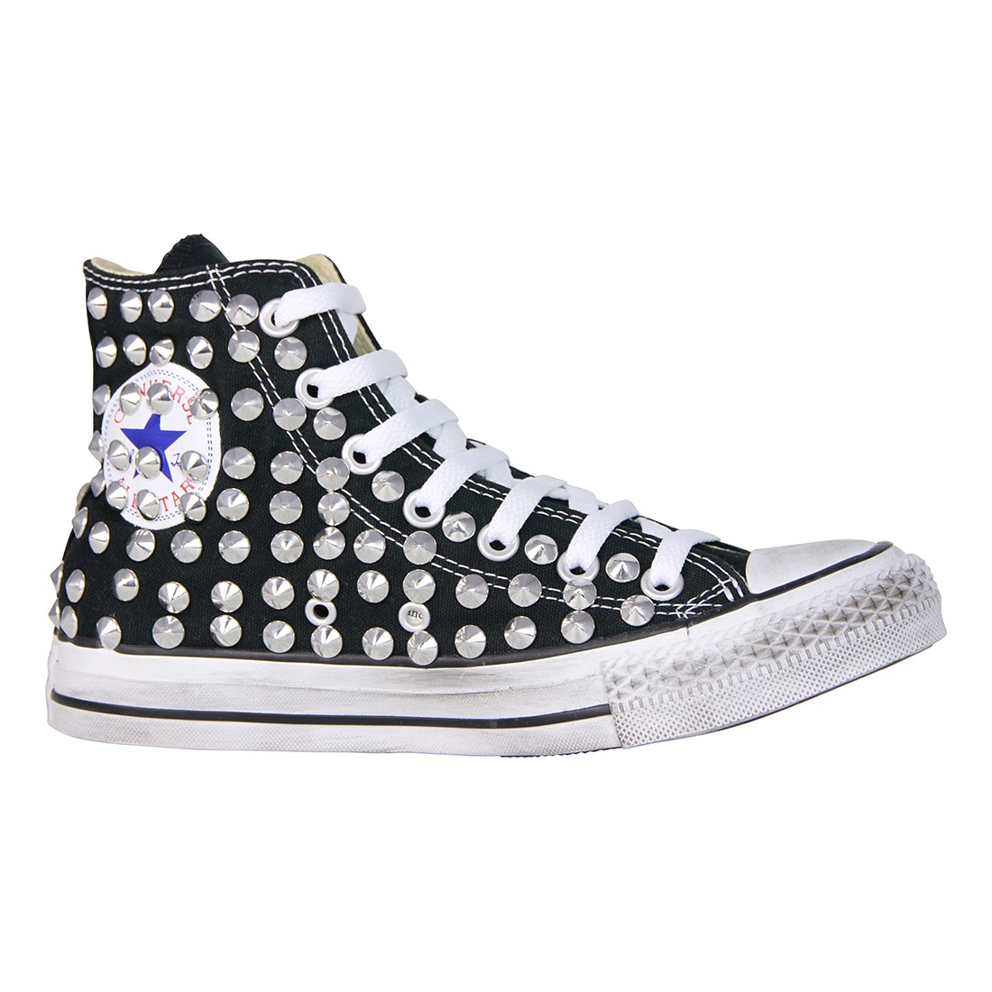 all star converse con borchie