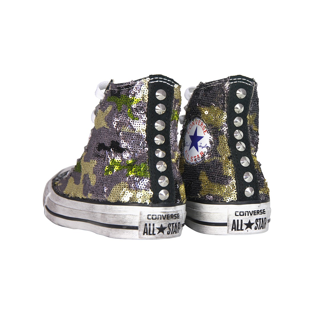 all star converse con pelo