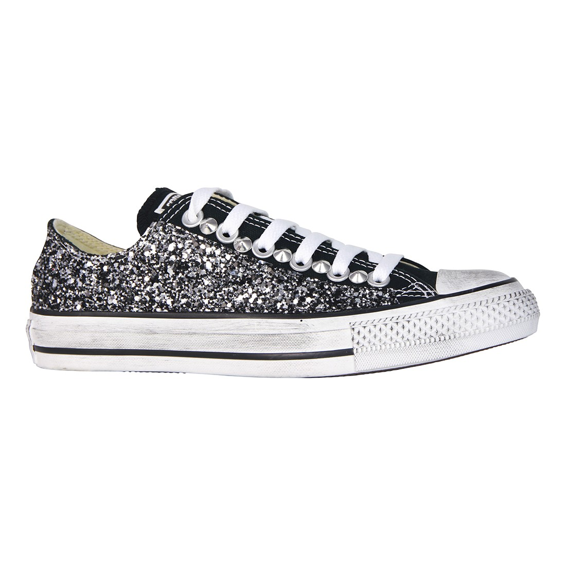 Acquista converse all star nera - OFF42% sconti 53a6c4ff465