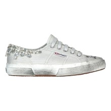 SUPERGA GREY JEWERLI LOVE IS